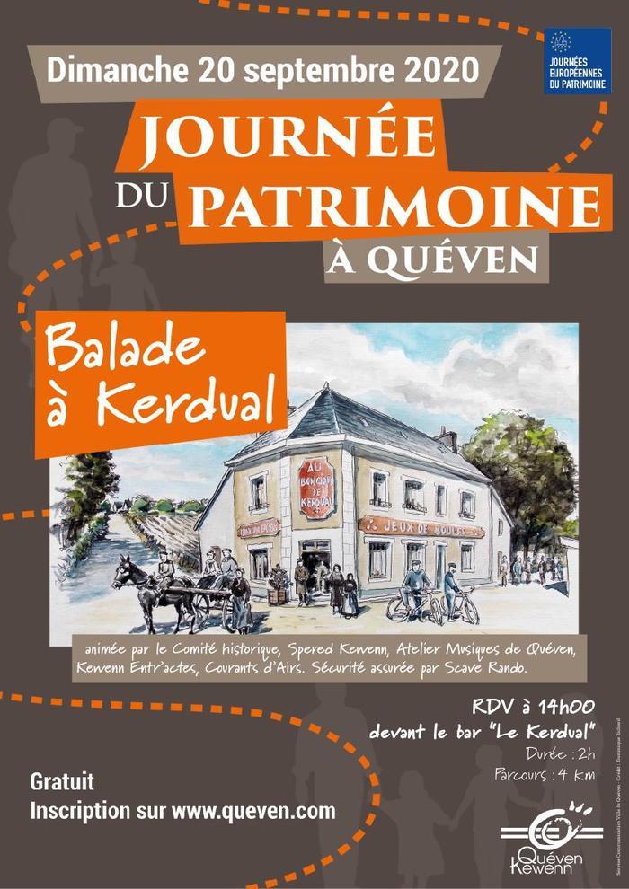Journées du patrimoine 2020 - Balade contée à Kerdual