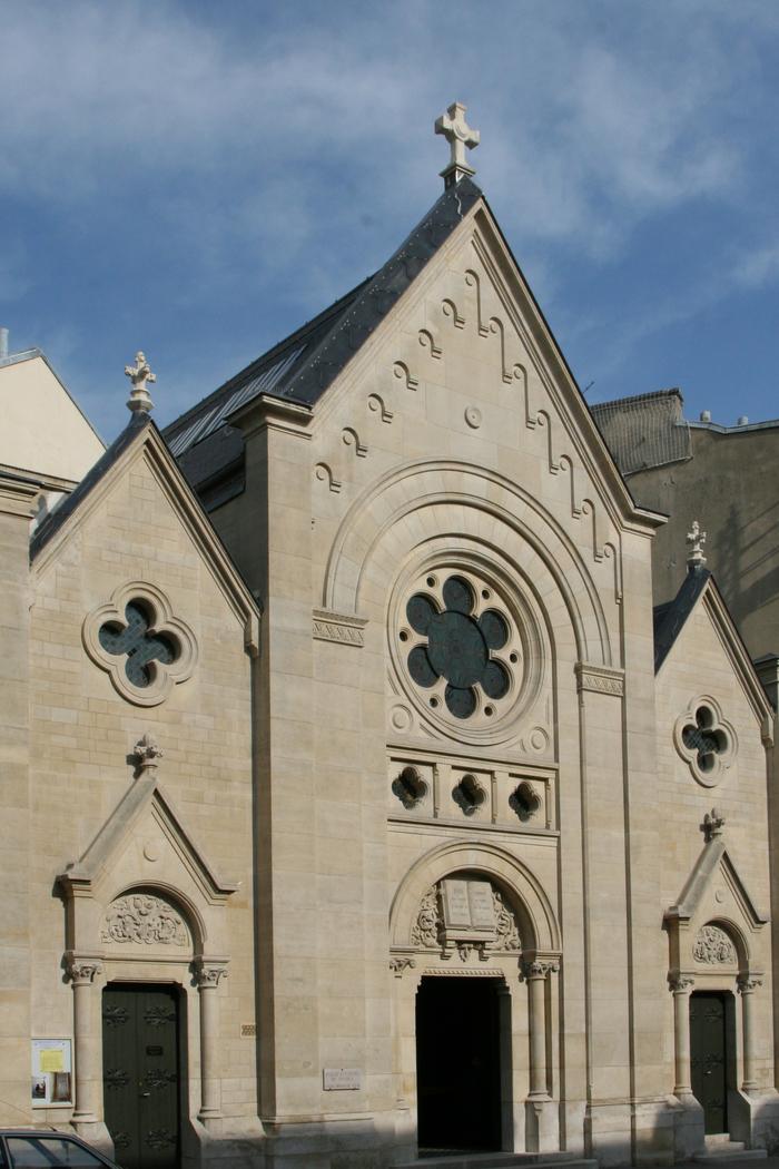 Journées du patrimoine 2020 - Temple protestant de Versailles