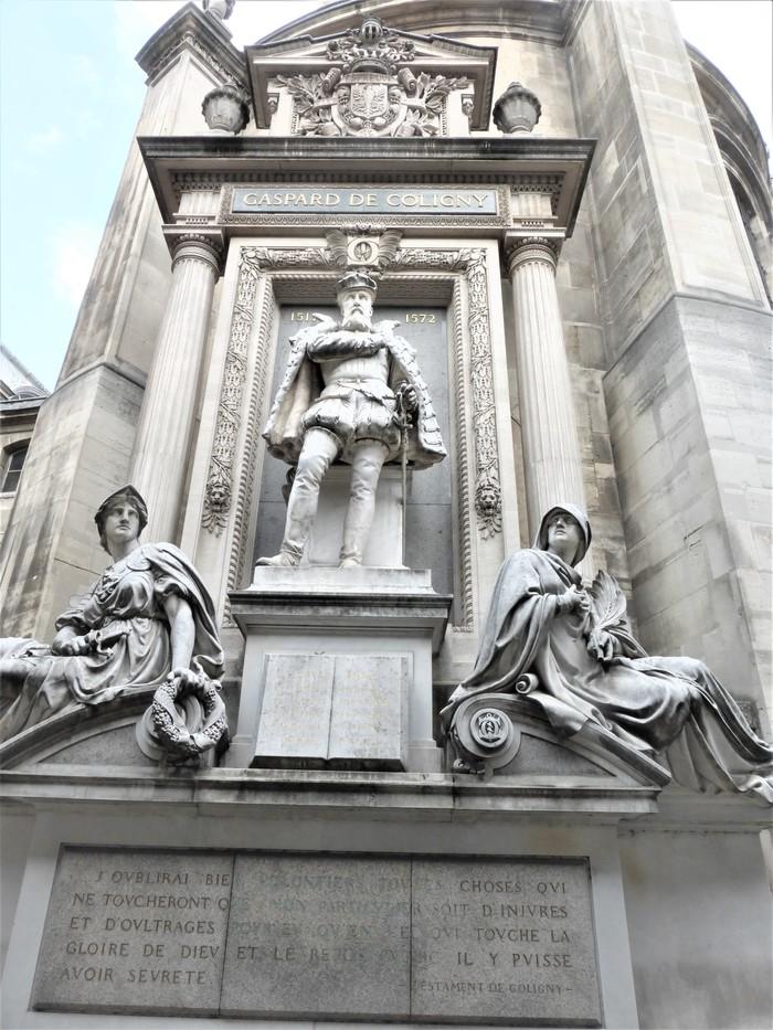Journées du patrimoine 2019 - Exposition sur le monument à la mémoire de l'Amiral Gaspard de Coligny (1519-1572)