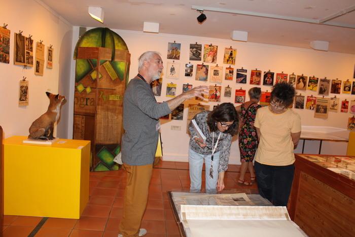 Journées du patrimoine 2020 - Instant impromptu sur l'exposition Du Scorpion à Futuropolis, une esthétique du bizarre