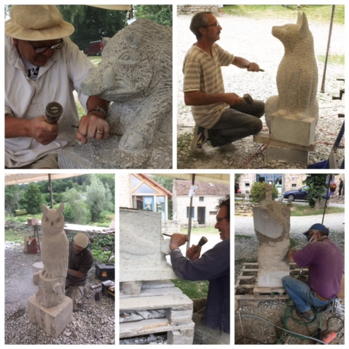 Journées du patrimoine 2020 - Découverte du patrimoine local :  Masgot, un village sculpté !