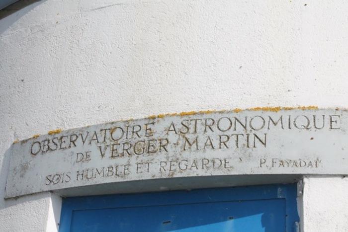 Journées du patrimoine 2019 - Visite de l'observatoire astronomique Pierre Fayadat