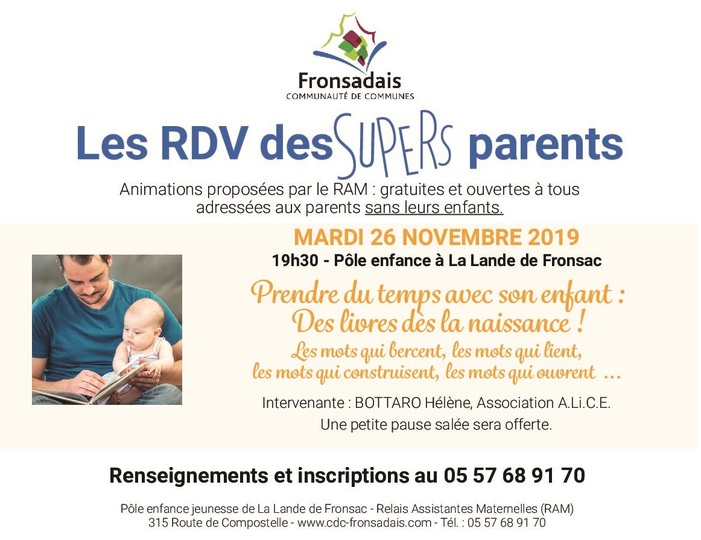 Les RDV des supers parents