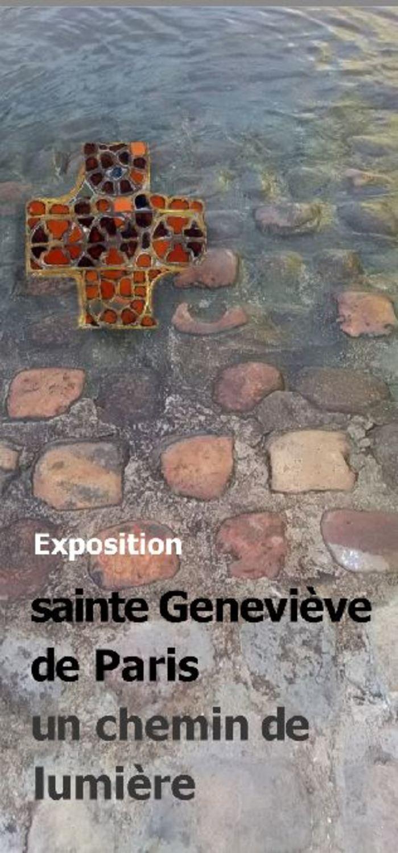 """Exposition """"Sainte Geneviève, un chemin de lumière"""""""