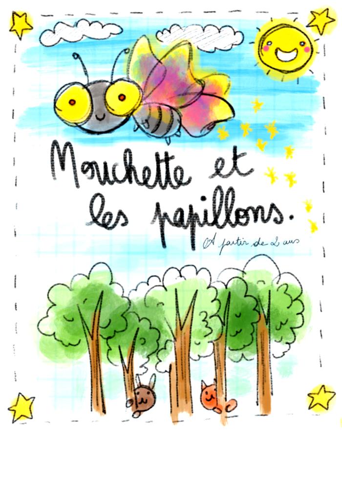 Mouchette et les papillons