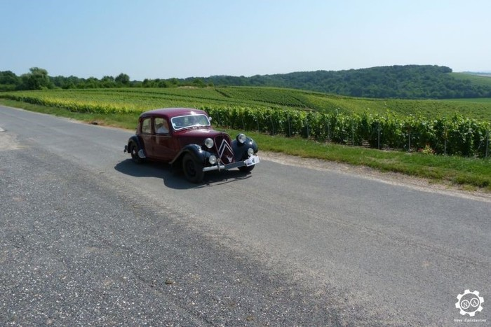 Journées du patrimoine 2019 - Présentation de voitures anciennes à Bethon