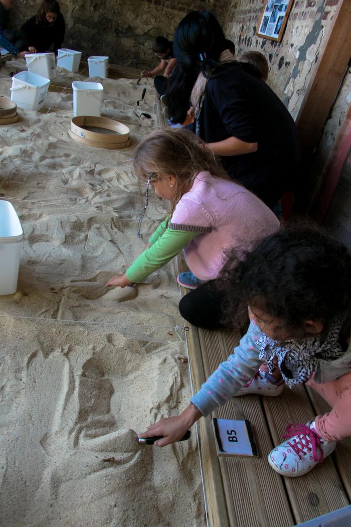 Journées du patrimoine 2020 - Animation jeune public : Initiation à l'archéologie