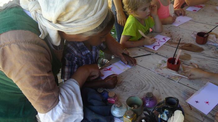 Journées du patrimoine 2019 - Atelier sur l'art de l'écriture médiéval
