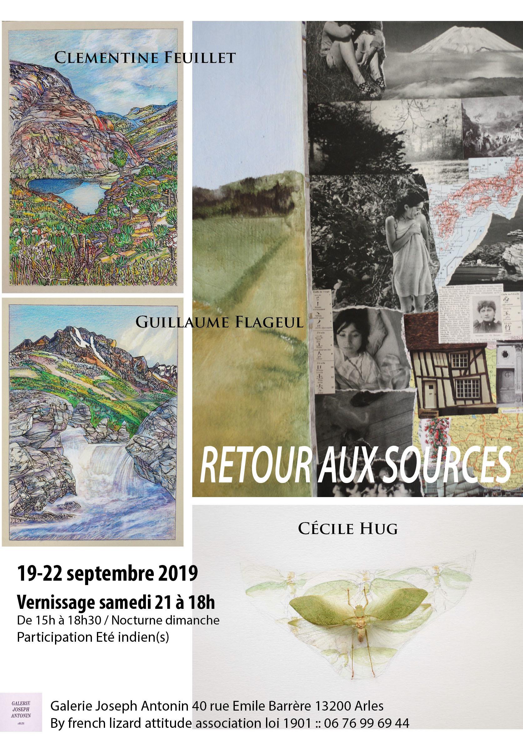 La galerie re-ouvre ses portes et invite Cécile Hug, Clémentine Feuillet, Guillaume Flageul à présenter des oeuvres singulières autour de la relation entre sujet et nature.