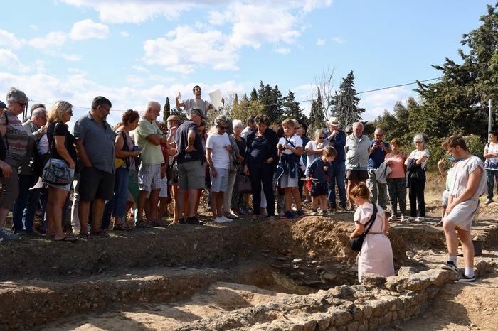 Journées du patrimoine 2020 - Visite guidée du site archéologique