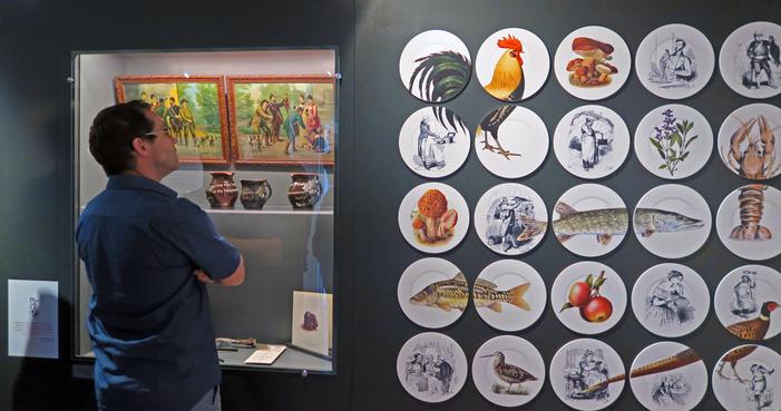 Journées du patrimoine 2019 - Visite guidée de l'exposition « L'Ain au menu. Un art de la gastronomie »
