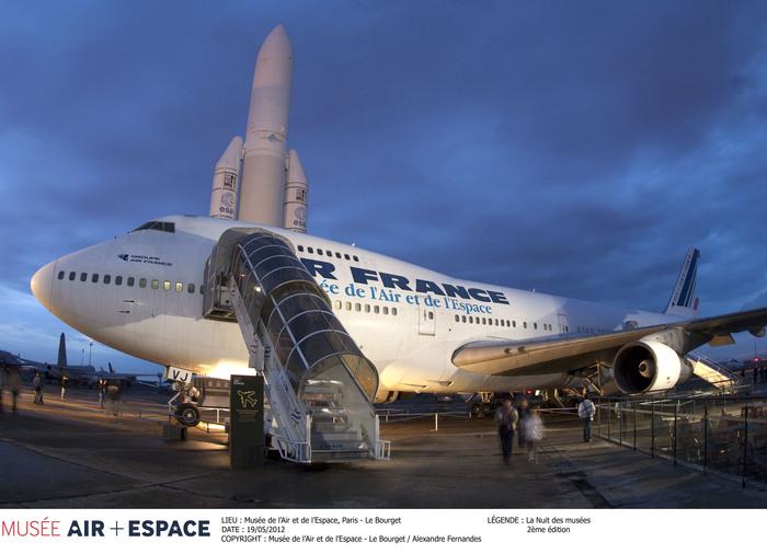 Nuit des musées 2019 -Le Jumbo jet vous ouvre ses ailes