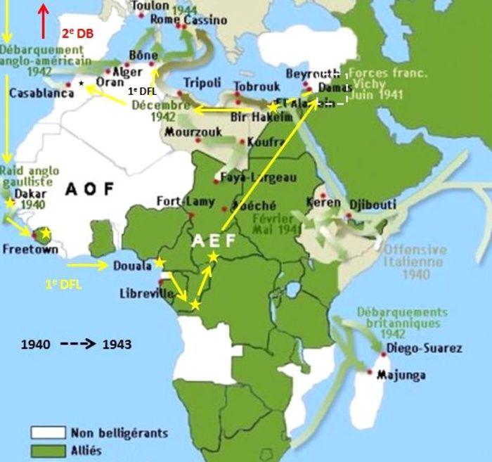 Journées du patrimoine 2020 - Conférence « Eté 40, l'aube de l'Afrique Française Libre » par M. Guy Crissin