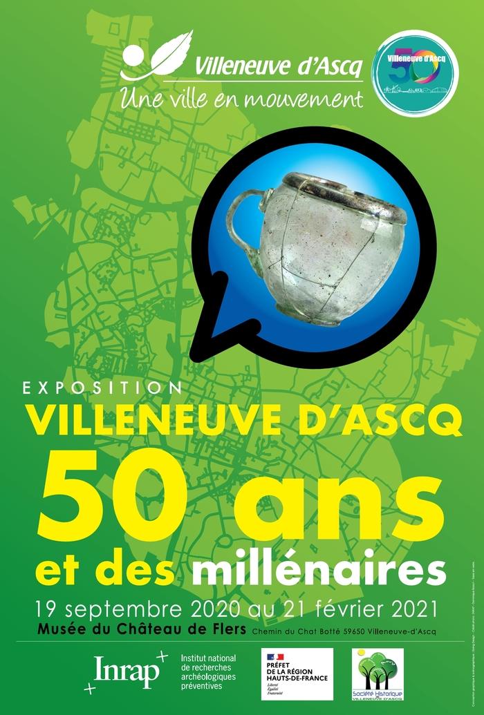Interrompue mais virtuelle | Exposition Villeneuve d'Ascq 50 ans et des millénaires
