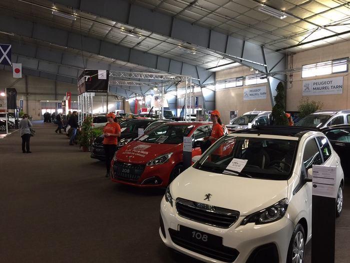 Le salon de l'automobile d'Albi se tiendra du 5 au 8 Novembre 2021.