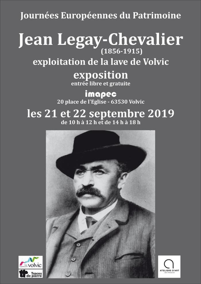 Journées du patrimoine 2019 - Exposition : Jean Legay-Chevalier, un homme d'exception
