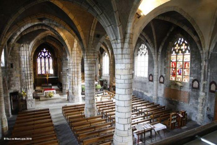 Journées du patrimoine 2020 - Eglise Notre-Dame - Montluçon : polyptyque Vie de la Vierge Marie
