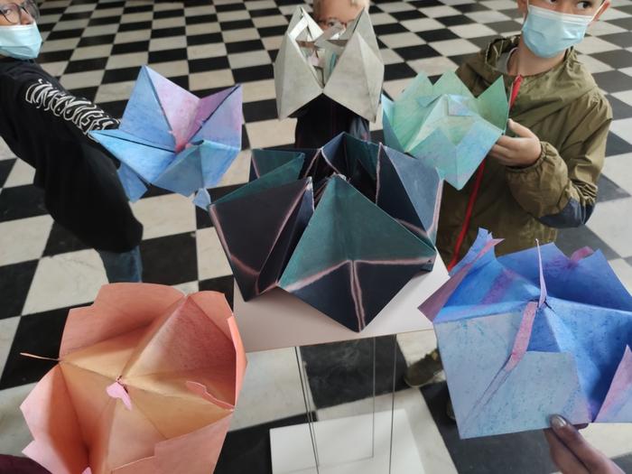 Atelier Dessiner, designer, c'est plier ! pour les 7/12 ans