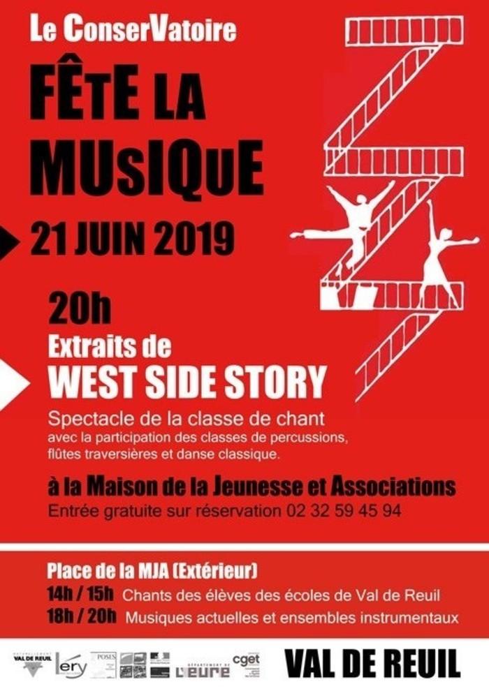 Fête de la musique 2019 - Extraits de West Side Story
