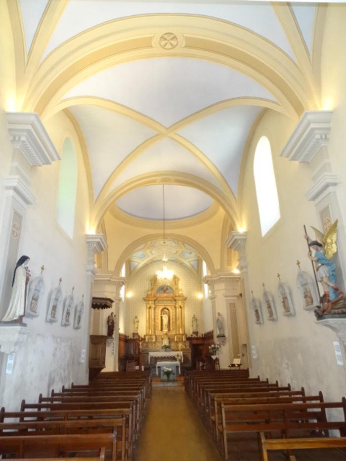 Journées du patrimoine 2020 - Visite libre de l'église Saint-Jean-Baptiste du Reposoir.