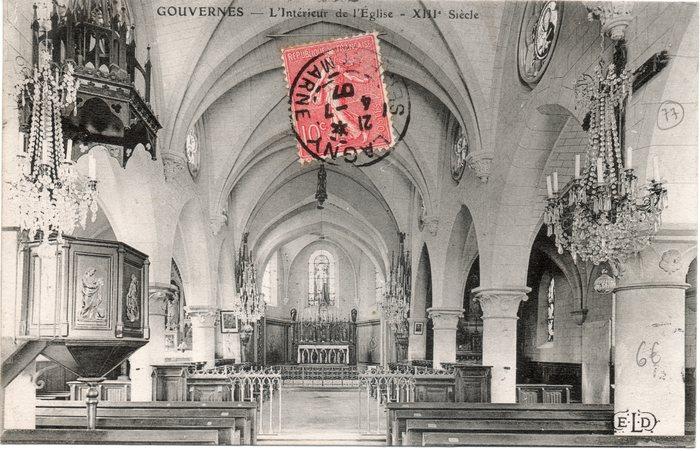 Journées du patrimoine 2020 - Visite libre de l'église Saint-Germain à Gouvernes