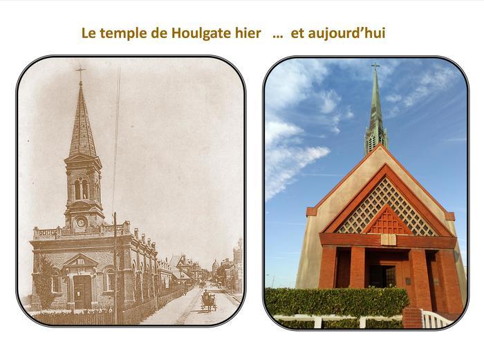 Journées du patrimoine 2019 - Visite libre du temple de Houlgate hier et aujourd'hui