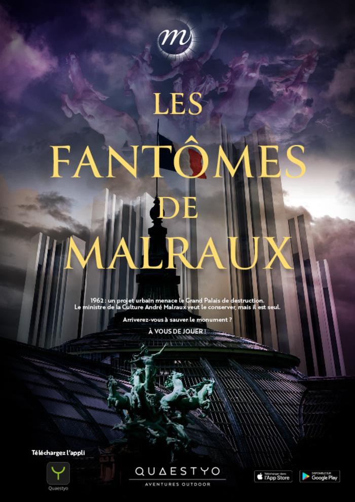 Journées du patrimoine 2020 - Les fantômes de Malraux - Escape game sur téléphone autour du Grand Palais