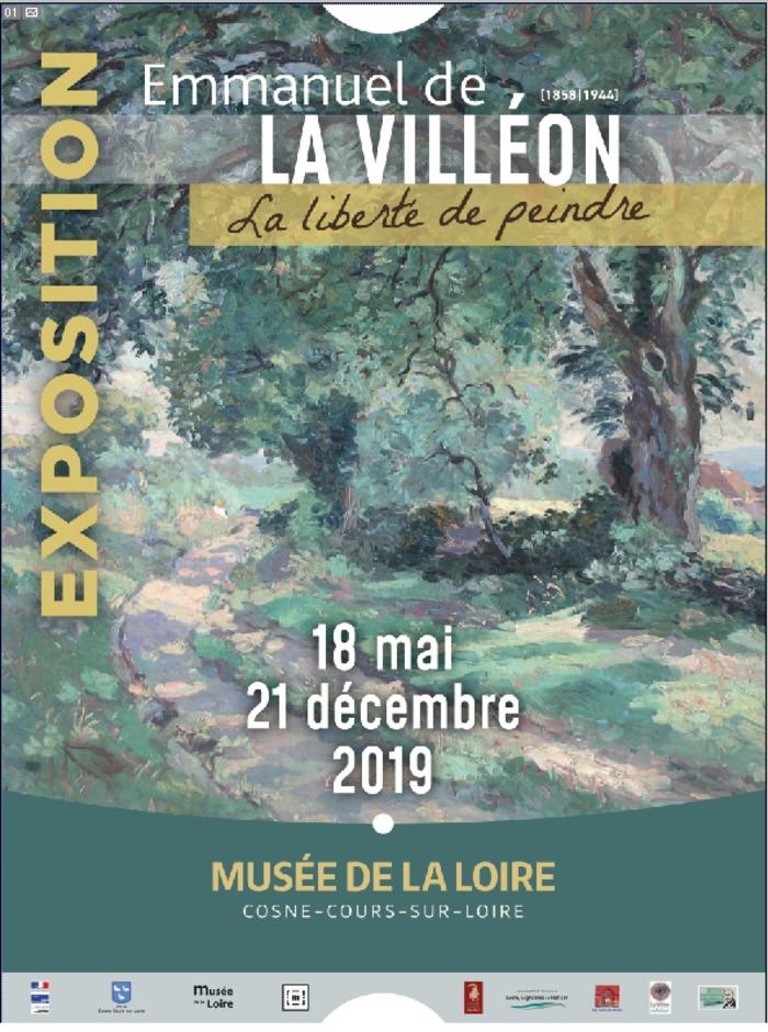 Journées du patrimoine 2019 - Exposition temporaire sur Emmanuel de La Villéon au musée de la Loire