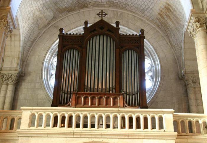Journées du patrimoine 2019 - Tribune d'orgue ouverte