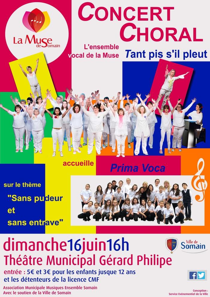 Concert Choral de la Muse de Somain
