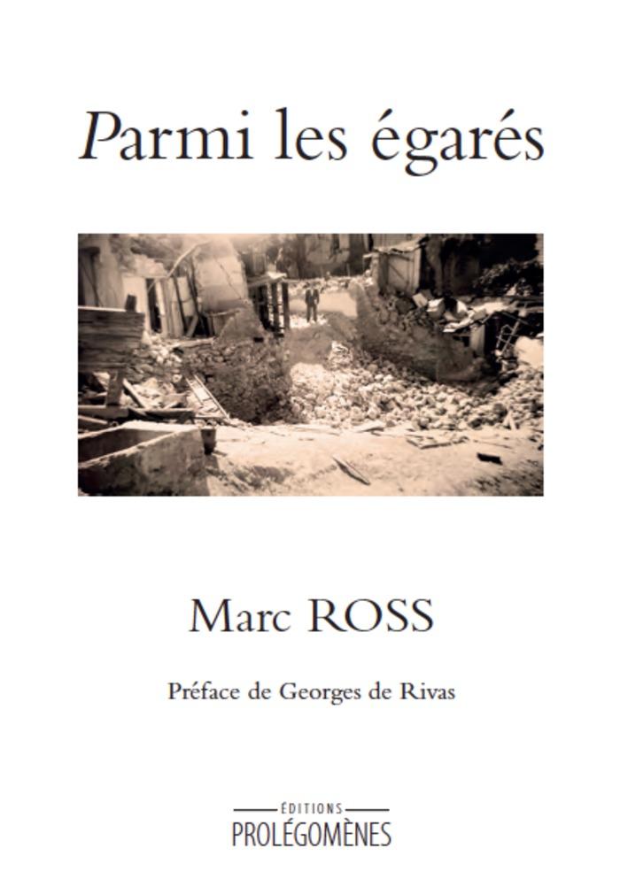 """Présentation de son dernier recueil """"Parmi les égarés"""""""