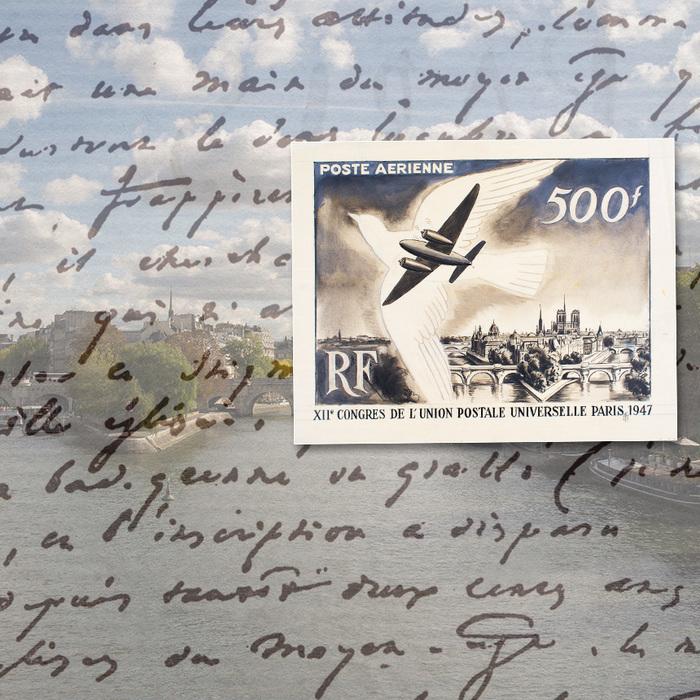 À partir de textes, de timbres et d'images inspirantes, les participants laissent libre cours à leur imagination et créent un récit (petit texte, poème…) sur le thème de l'aérien.