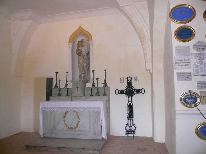 Journées du patrimoine 2020 - Visite de la chapelle Notre-Dame-de-la-Roque
