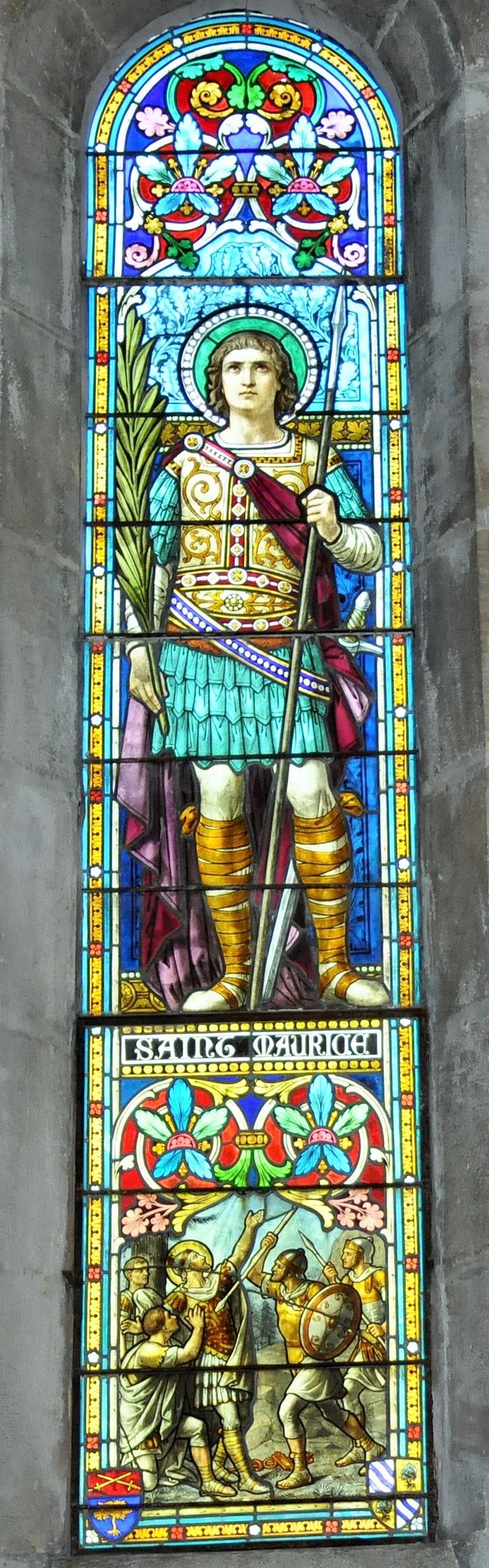 Journées du patrimoine 2020 - L'église Saint-Maurice et ses vitraux Bégule