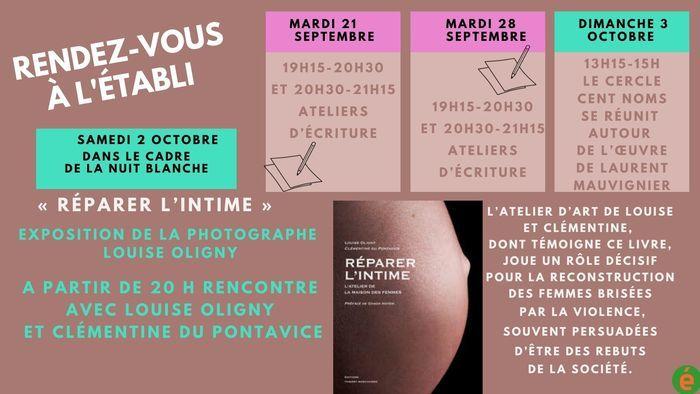 Rencontre autour du livre et exposition de photos de Louise Oligny