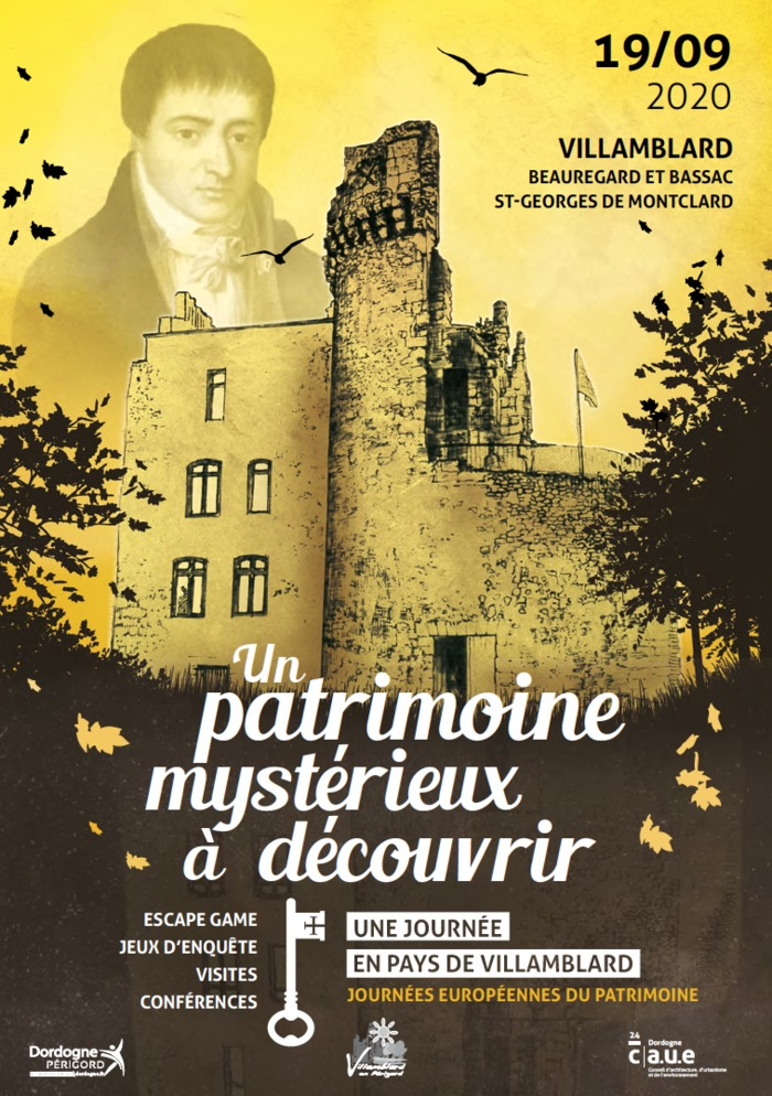 Journées du patrimoine 2020 - Un patrimoine mystérieux à découvrir en pays de Villamblard