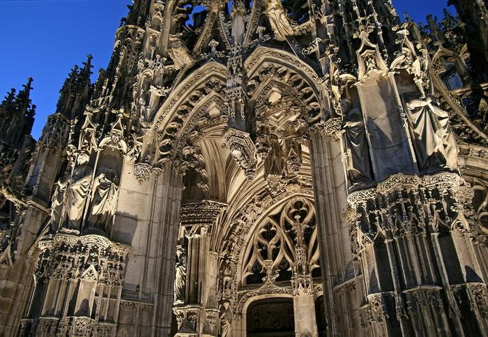 Journées du patrimoine 2019 - Projection sur l'église Notre-Dame de Louviers en 3D