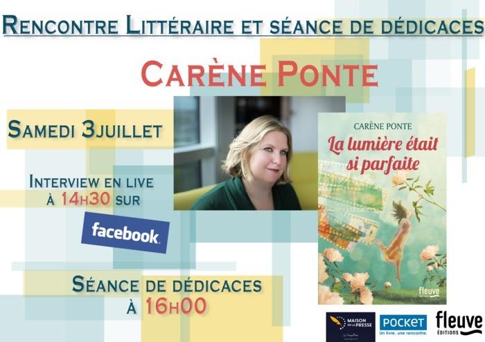 Rencontre littéraire en Live et Dédicaces à la Maison de la Presse du Touquet