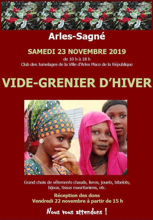 Organisé par le comité de jumelage-coopération Arles-Sagné