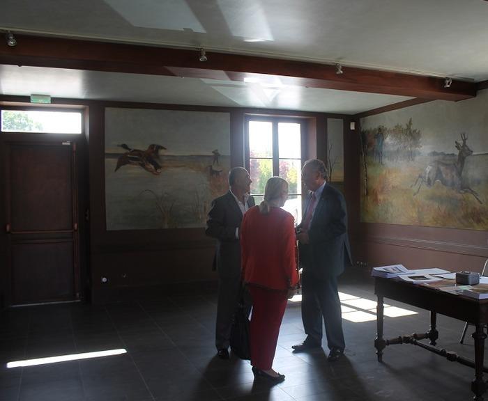 Journées du patrimoine 2020 - Visite libre de la maison Monier et de ses peintures murales