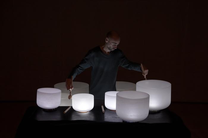 Journées du patrimoine 2020 - Concert de bols chantants avec Frédéric Nogray