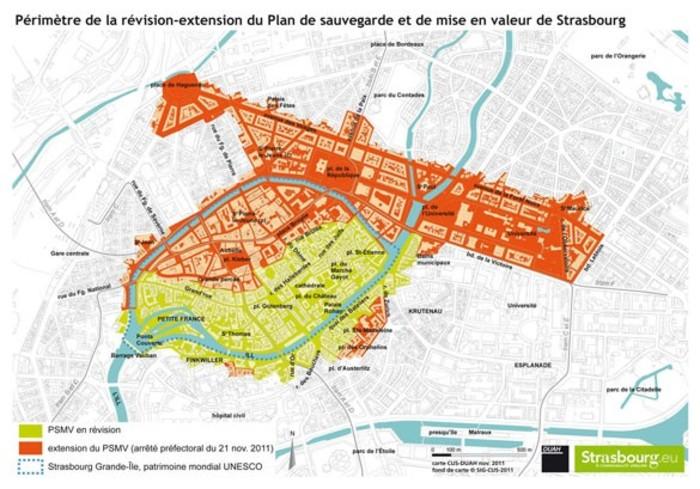 Journées du patrimoine 2020 - Circuit autour de la sauvegarde et de la mise en valeur de Strasbourg