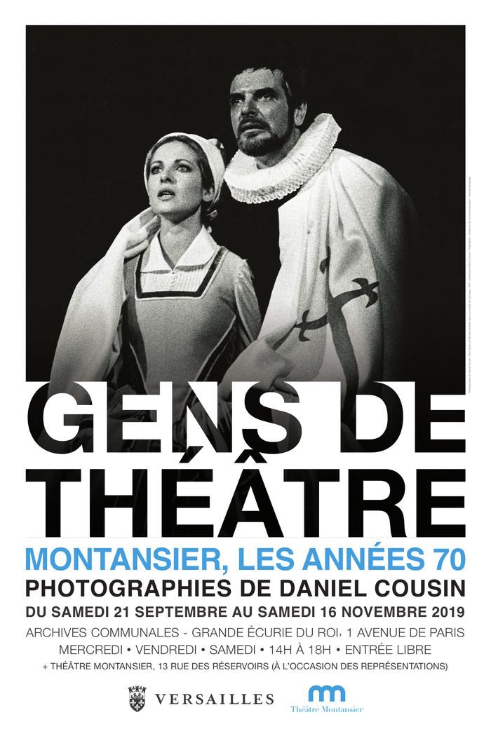 Journées du patrimoine 2019 - Exposition « Gens de théâtre - Montansier, les années 70  »