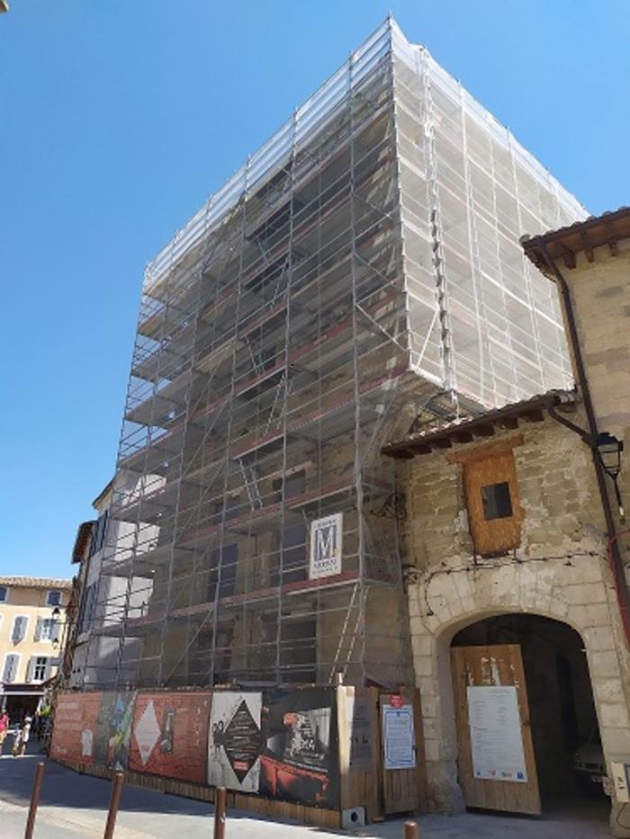 Journées du patrimoine 2020 - Présentation et visite du chantier de la Tour d'Argent