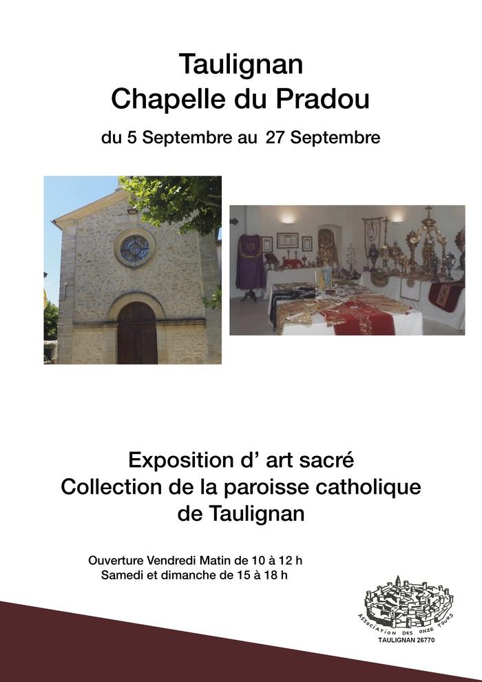 Journées du patrimoine 2020 - Exposition Art Sacré
