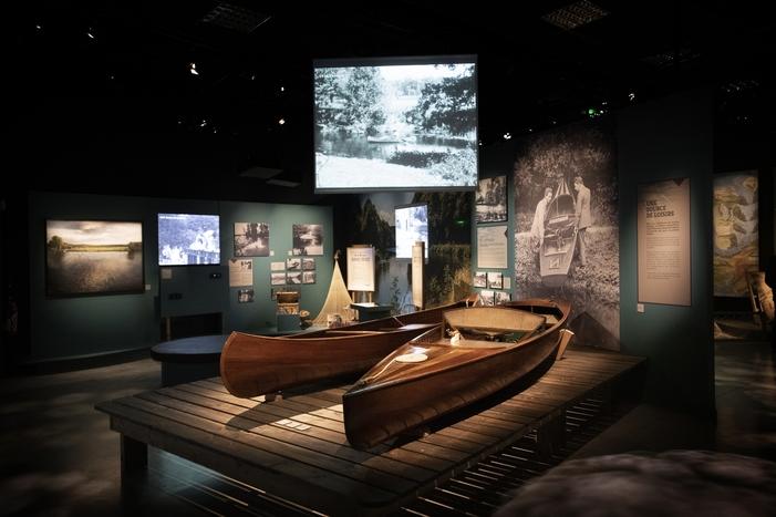 Nuit des musées 2019 -Visites de l'exposition Vilaine : Sous l'angle des crues