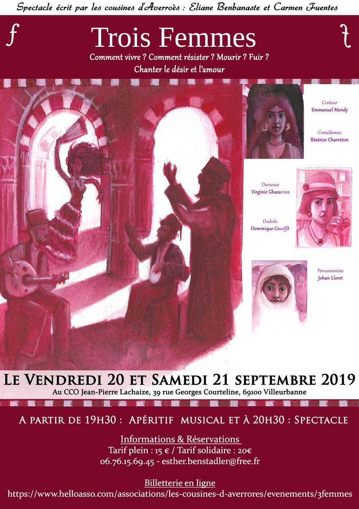 Journées du patrimoine 2019 - Journées du Matrimoine - Trois femmes
