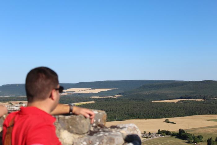 Journées du patrimoine 2020 - Lecture de paysages au sommet de la tour maîtresse du château de Mâlain