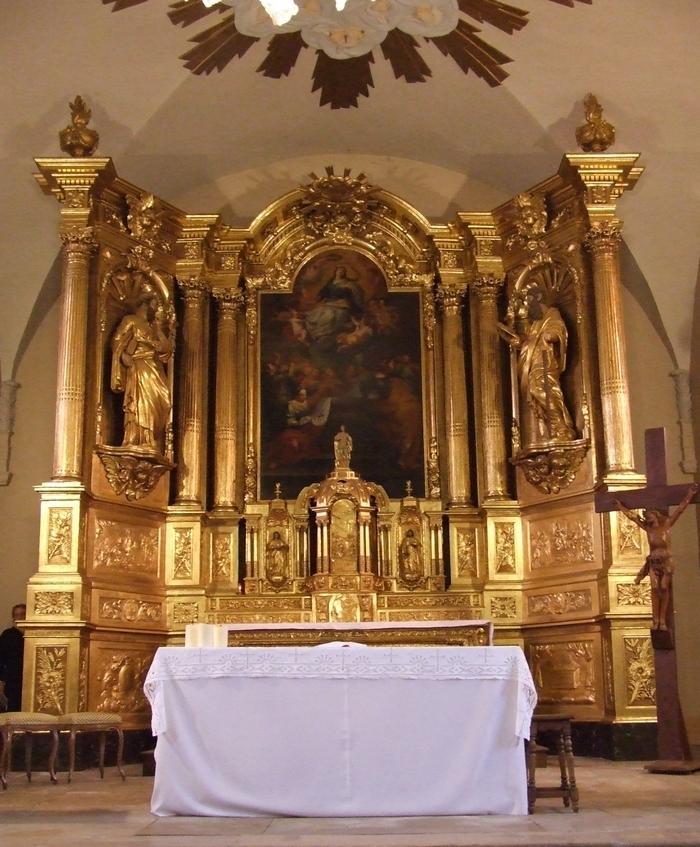 Journées du patrimoine 2020 - Admirez le retable de l'église St Maurice