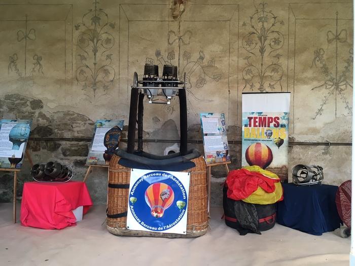 Journées du patrimoine 2019 - Exposition sur les Montgolfières